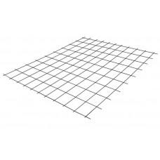 Сетка сварная неоцинкованная в картах 125*125 толщ.2,5 1,0*2,0м