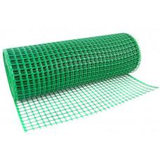 Сетка пластиковая зеленая яч.30*30 выс.1,0м
