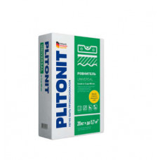 Пол ровнитель Плитонит UNIVERSAL 20кг 2-80мм