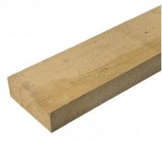 Доска обрезная 25x100 3м