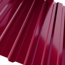 Проф.лист С-20 2000*1150мм вишневый (RAL 3005)