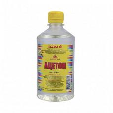 Ацетон Ясхим 0,5 л для растворения природных смол, масел, диацетата целлюлозы