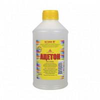 Ацетон Ясхим 1 л для растворения природных смол, масел, диацетата целлюлозы