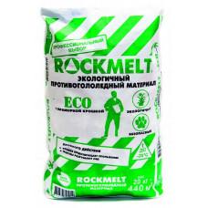 Антигололед Rockmelt Eco двойного действия с мраморной крошкой 20 кг