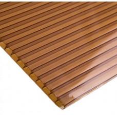 Поликарбонат сотовый коричневый 8мм 2,1*12м
