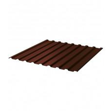 Проф.лист С-20 2000*1150мм коричневый (RAL 8017)
