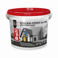 Краска-грунт Dali по OSB A матовая 6 кг для фасадов, стен, потолков