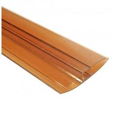 Профиль HP соединительный 8мм POLYPLAST коричневый, 6м