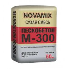 Пескобетон М-300 Novamix, 50 кг