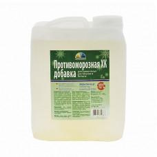 Антиморозная добавка для растворов и бетона Радуга хлорид кальция 5 л