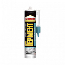 Герметик силиконовый Момент Гермент для аквариумов прозрачный 280 мл