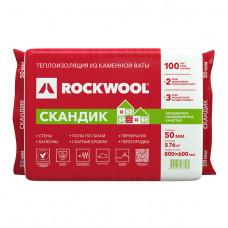 Утеплитель Rockwool Лайт Баттс Скандик 50х600х800 мм 5,76 кв.м