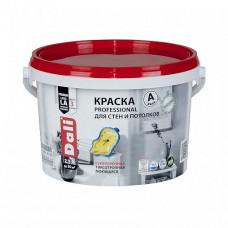 Краска Dali Professional A глубокоматовая 2,5 л для стен и потолка