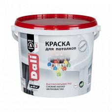 Краска Dali Для потолков белая глубокоматовая 5 л для стен и потолка