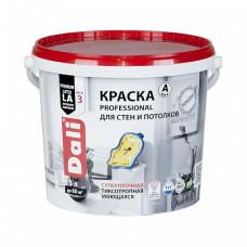 Краска Dali Professional A глубокоматовая 5 л для стен и потолка