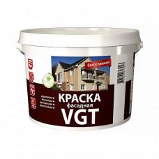 Краска VGT ВД-АК-1180 фасадная белоснежная матовая 15 кг для фасада, стен и потолков
